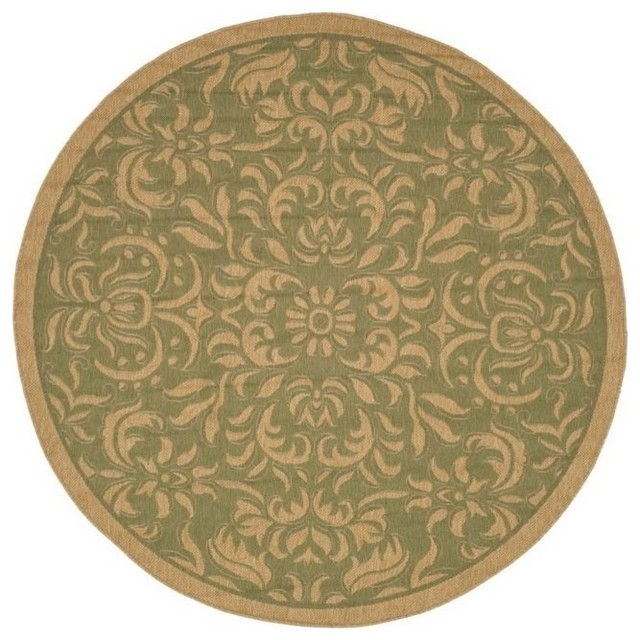 Synthetic round rug contemporary area rugs by shopladder for Round area rugs contemporary