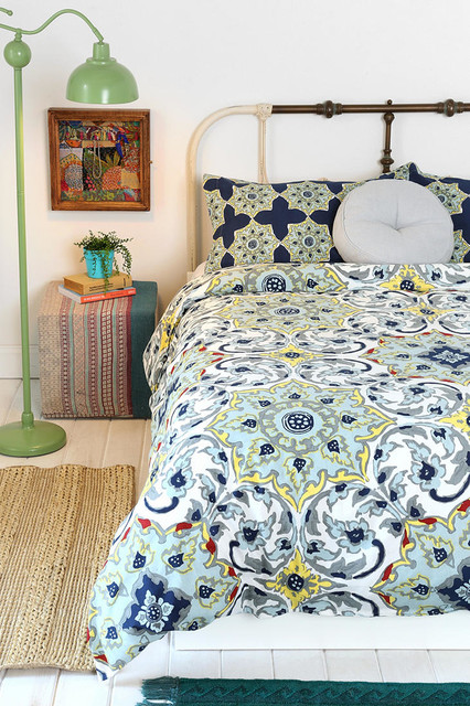 Magical Thinking Azo Medallion Duvet Cover Contemporary