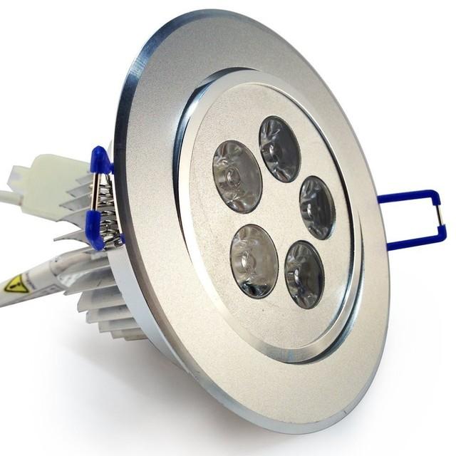 Recessed Directional Lighting Fixtures : Watt led directional ceiling light modern recessed