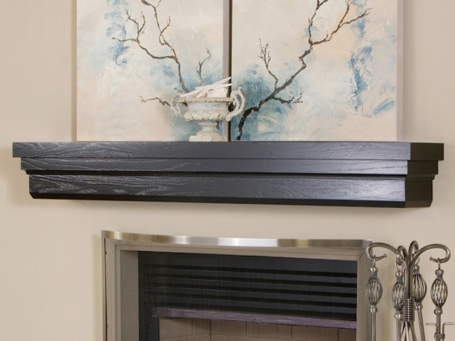 Weston Fireplace Mantel Shelf Modern Fireplace