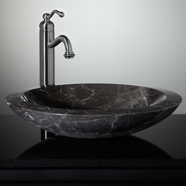Stones In The Sink : New Stone Vessel Sinks - Eclectic - Bathroom Sinks - Cincinnati - by ...