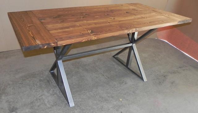 Modern farmhouse table modern dining tables calgary for Build your own farmhouse dining table