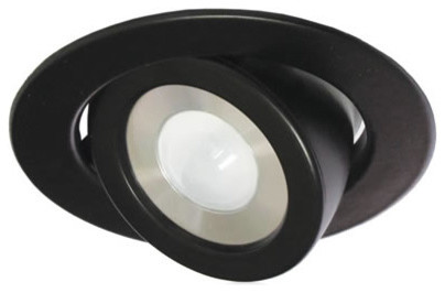 LED Low Voltage Adjustable Metal Miniature Recessed, Warm White - Contemporary - Undercabinet ...