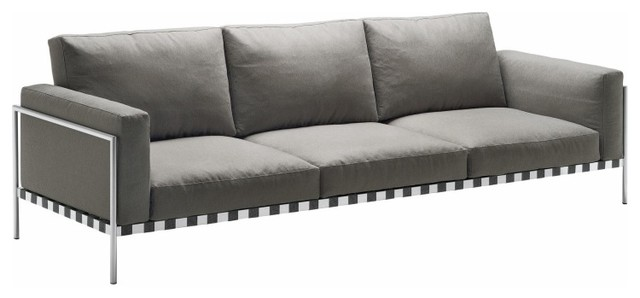 parco indoor 3 sitzer sofa contemporary sofas by. Black Bedroom Furniture Sets. Home Design Ideas