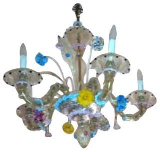 Murano Glass Chandelier - $12,000 Est. Retail - $9,000 on Chairish.com