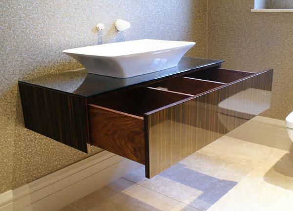 Stunning Black Vanity Units For Bathroom Photos - 3D house designs ...