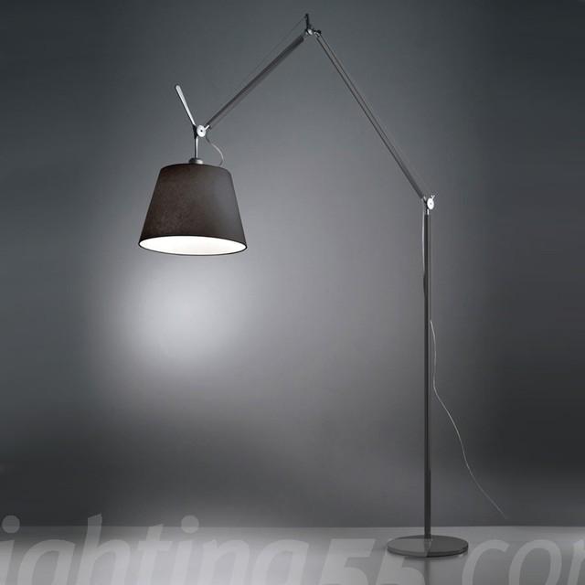 Artemide Tolomeo Mega Black Floor Lamp Modern Floor