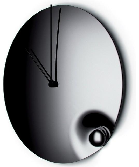 acqua wall clock by casa bugatti contemporain horloge murale par donovan design studio. Black Bedroom Furniture Sets. Home Design Ideas