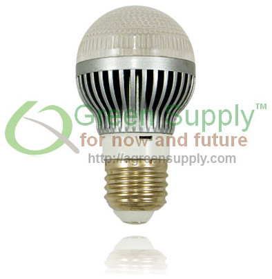Dimmable A19 LED Light Bulb - 40W Replacement - Cool White (with Clear Reflector - Led Bulbs ...