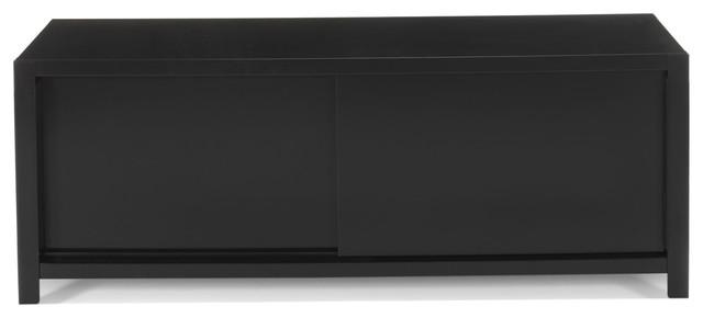 Meuble Tv Acier Alinea : Nori Meuble Tv En Acier – Contemporain – Solution Média Et Meuble Tv