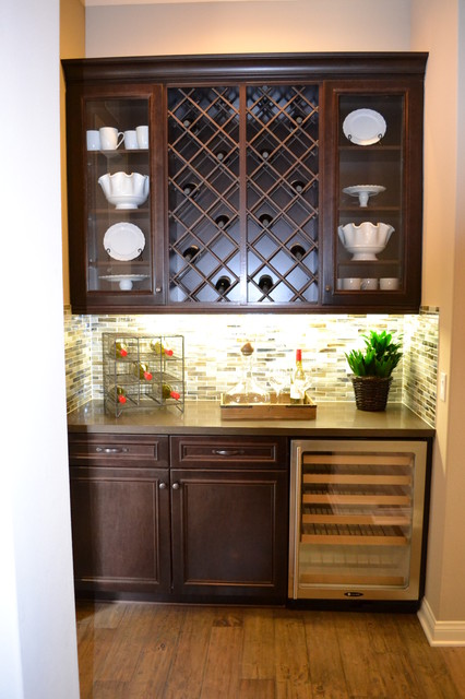 Frameless Cabinetry: Wine Racks - los angeles - by RSI Professional Cabinet Solutions