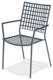 veranda garten armlehnstuhl bauhaus look outdoor gartenm bel von. Black Bedroom Furniture Sets. Home Design Ideas
