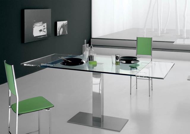 Elvis drive extensible dining table by cattelan italia for Esstisch modern glas