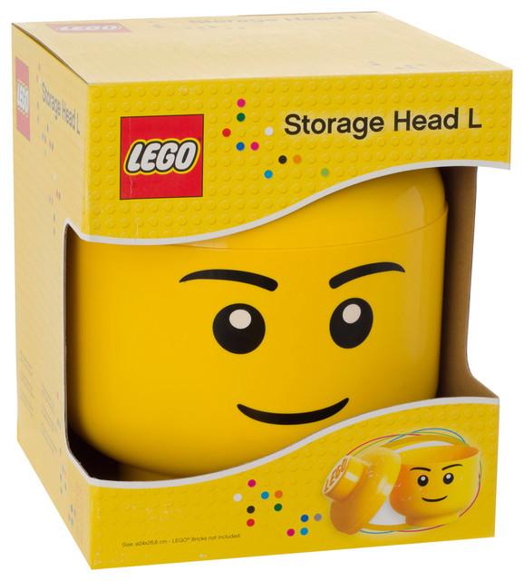 Lego Storage Head Boy Contemporary Toy Organisers  sc 1 st  Listitdallas & Lego Storage Head Toys R Us - Listitdallas