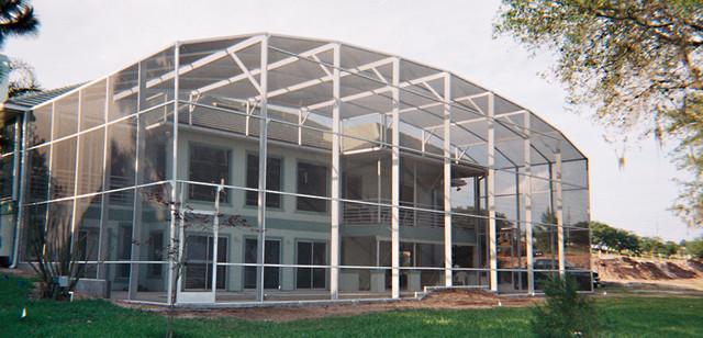 Pool enclosures moderno patio jacksonville di for Idee portico florida