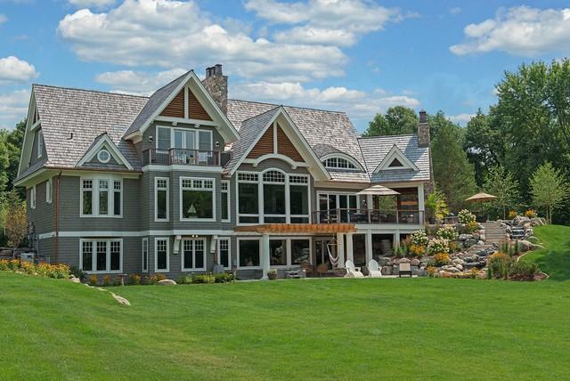 Custom Orono Lake Cottage Farmhouse Minneapolis By