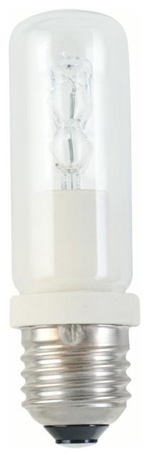 e27 halogen retrofitlampe 150 w kolben klar bauhaus look. Black Bedroom Furniture Sets. Home Design Ideas