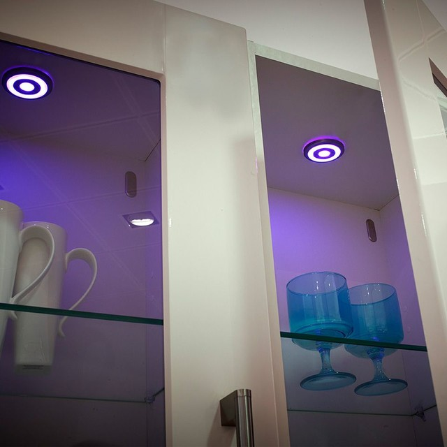 LED RGB Colour Changing Surface Under Cabinet Spotlight