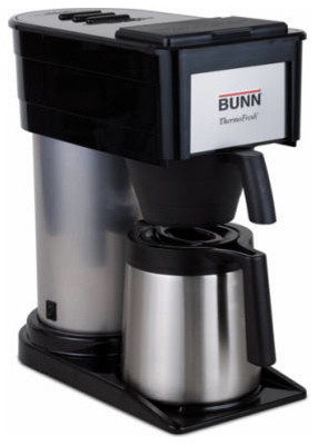 Black Coffee Brewer 10 Cup - Modern - Coffee Makers - by Midland Hardware