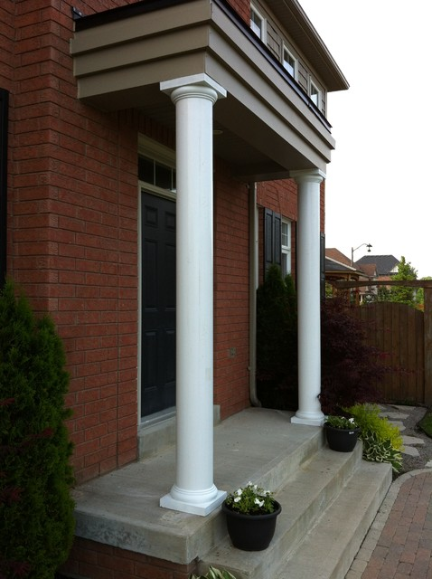 Round Fiberglass Columns Traditional Toronto By Aimg Inc