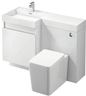 Space savers modern bathroom vanity units sink for Bathroom cabinets yorkshire