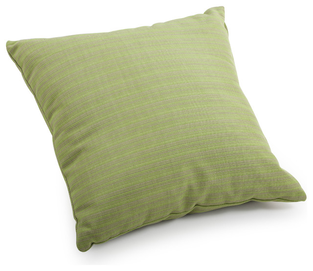 Small Green Throw Pillow : Cat Small Pillow Apple Green Linen - Tropical - Decorative Pillows - by Zuo Modern Contemporary