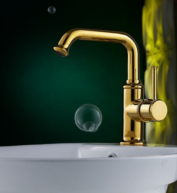 Brass faucets bathroom