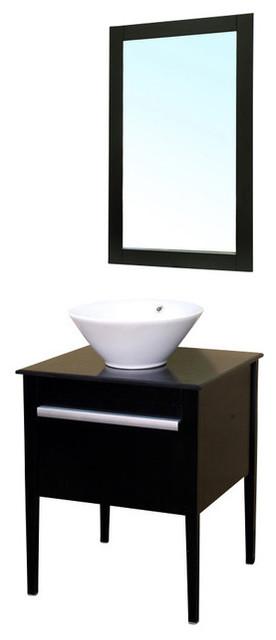 26 Inch Modern Single Sink Bathroom Vanity Contemporary Bathroom Vanities And Sink Consoles