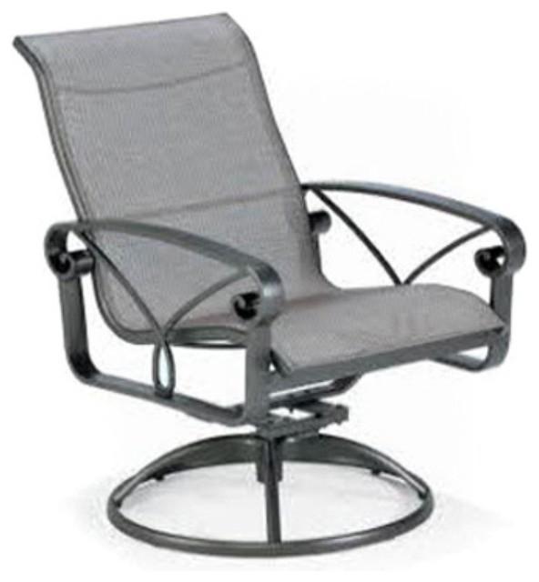 Winston Palazzo Sling High Back Swivel Tilt Dining Chair