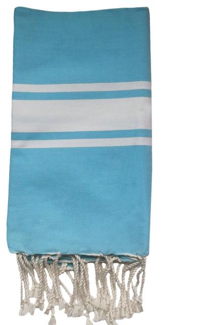 fouta plate turquoise bord de mer serviette de plage other metro par little boudoir. Black Bedroom Furniture Sets. Home Design Ideas