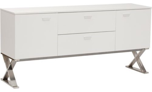white modern sideboard the hippest
