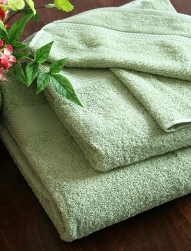 turkish cotton towels sage green modern bath towels other metro by homescapes europa ltd. Black Bedroom Furniture Sets. Home Design Ideas