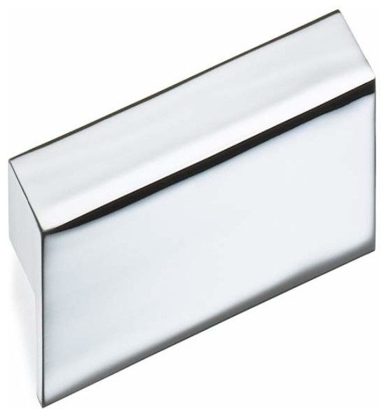 Schwinn Hardware 2 1/2 Inch ctc Edge Pull, Polished Chrome - Contemporary - Cabinet And Drawer ...