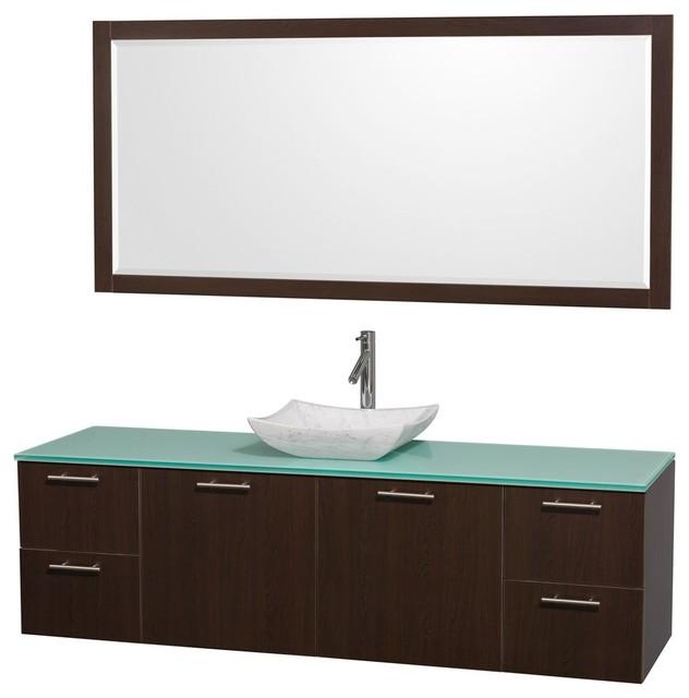 Floating Bathroom Vanities - Contemporary - Bathroom Vanities And Sink ...