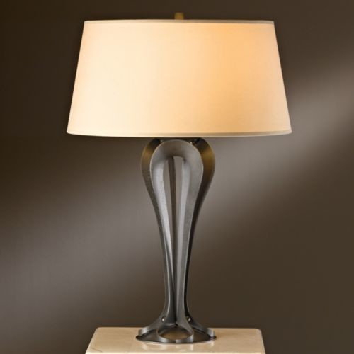 rene table lamp by hubbardton forge modern table lamps. Black Bedroom Furniture Sets. Home Design Ideas