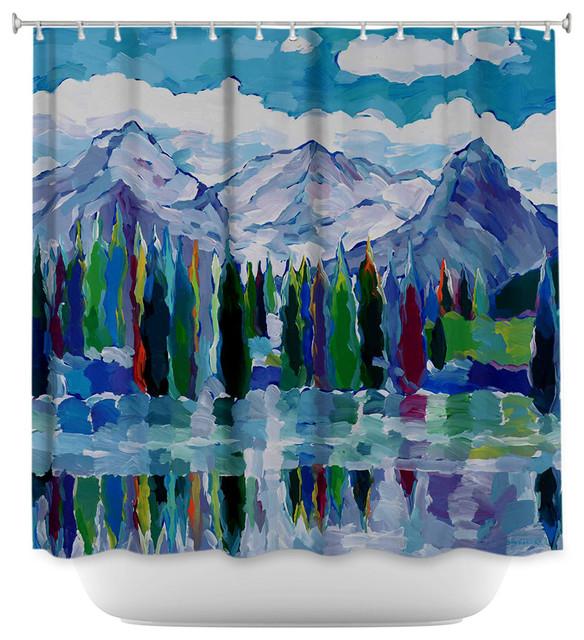 Dianoche Designs Shower Curtain By Hooshang Khorasani