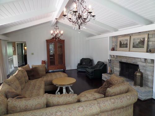 Great Room Furniture Arrangment