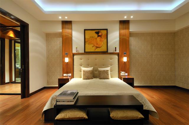 Apartment in beaumonde mumbai contemporary bedroom for Bedroom designs mumbai