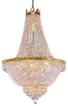 Jacquelyn Wrought Iron Crystal Chandelier With Swarovski Crystals