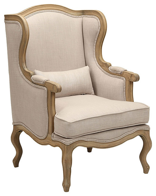 Fauteuil c sarine traditional armchairs and accent chairs by interior 39 s - Traditionele fauteuil ...