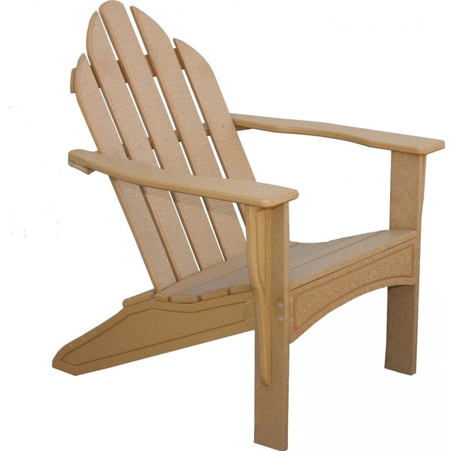 Eagle One Adirondack Recycled Plastic Patio Chair Modern Adirondack Chair