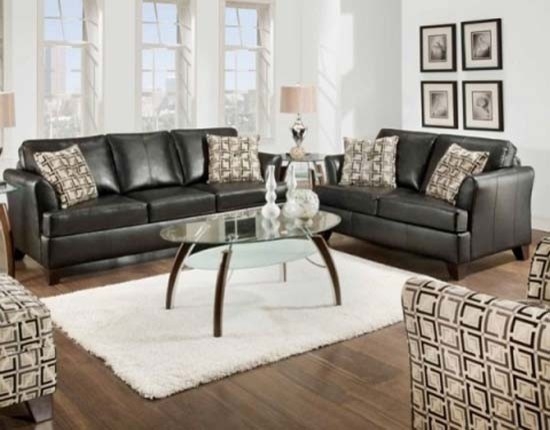 Sleeper sofa set 2051eflc transitional living room furniture sets