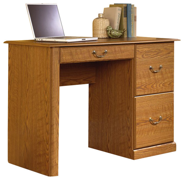 Sauder Orchard Hills Small Wood Computer Desk in Carolina ...