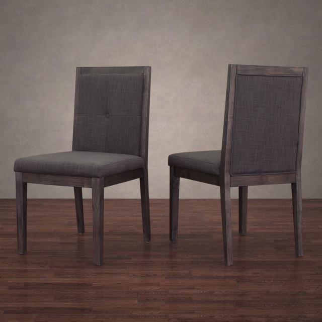 patterson smoke linen dining chairs set of 2