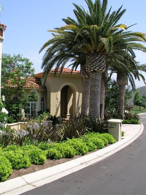 Santa Barbara Style New Home Mediterranean Los Angeles