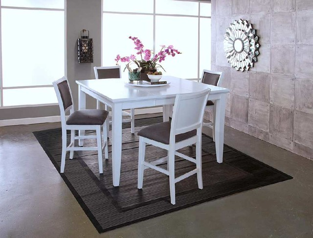 New classic furniture white river dining collection for Jungle furniture white river