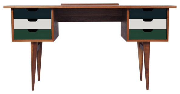 Bureau style scandinave personnalisable scandinave for Meuble bureau scandinave