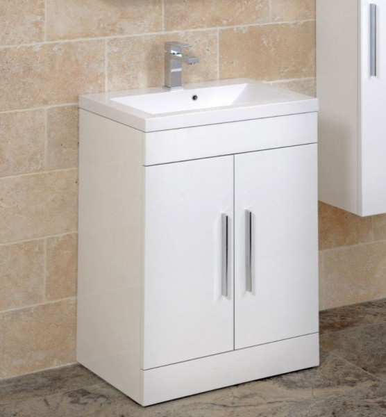 Adiere vanity unit white contemporary bathroom vanity for 50cm kitchen cabinets