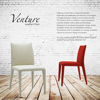 venture leather dining chair modern dining chairs
