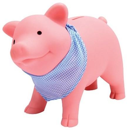 Schylling Rubber Piggy Bank Contemporary Banks